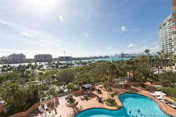 Furnished Rental In High Rise S   SOUTH POINTE TOWERS CONDO 1 BR Condo Miami  Beach Miami