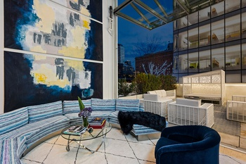 Beautifully Designed Chelsea Duplex Condo with Retractable Wall and Massive Garden